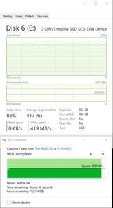 G-TEchnology G-Drive mobileSSD 1 TB