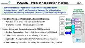 IBM plant für die POWER9-Systeme den Einsatz von PCI-Express 4.0