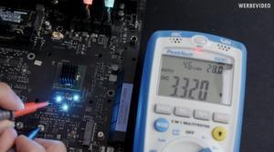 Messung der Leistungsaufnahme des X570-Chipsatz
