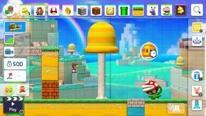 Screenshots zu Super Mario Maker 2