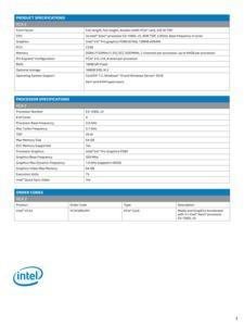 Intel Visual Compute Accelerator