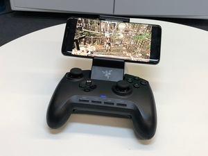 GeForce Now auf einem Android-Smartphone