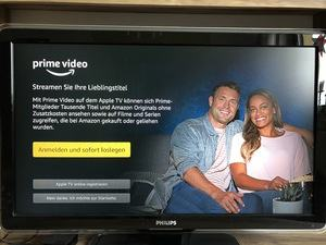 Amazon Prime Video App auf dem Apple TV