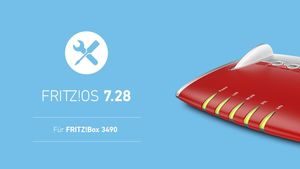 AVM FRITZ!OS 7.27 für 5530 Fiber und 7.28 für 3490