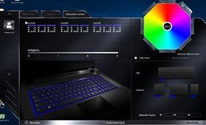 Die Software des Gigabyte Sabre 17-W8