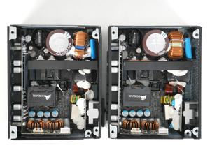 Corsair SF450 (li.) und SF600 (re.) im Vergleich