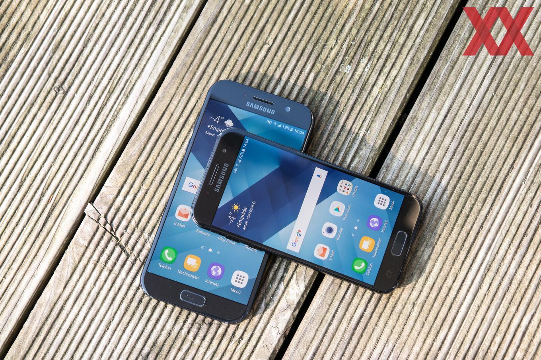 Samsung Galaxy A3 2017 Und Galaxy A5 2017 Im Test