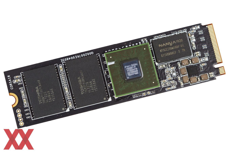 M 2-SSD Corsair MP500 mit NVMe und Phison-Controller im Test
