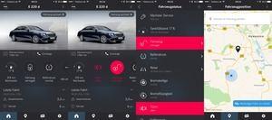 Per Smartphone-App lassen sich alle wichtigen Daten sowie der Fahrzeug-Standort aus der Ferne abrufen