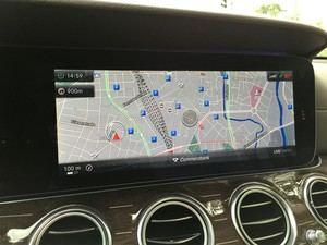 Comand Online lässt sich nicht nur in der Navigations-Ansicht leicht bedienen