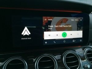 Android Auto in der neuen E-Klasse