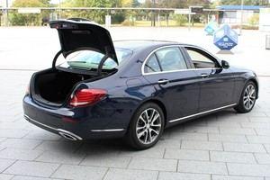 540 l schluckt der Kofferraum des W213