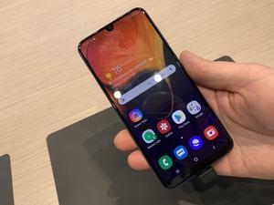 Samsung Galaxy A50 auf dem MWC 2019