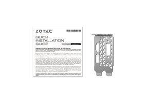 ZOTAC GeForce GTX 1050 LP
