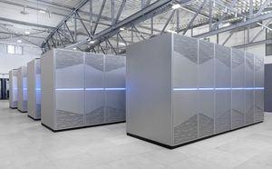 Supercomputer JUWELS in Juelich