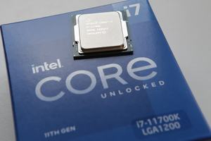 Intel Core i7-11700K Package