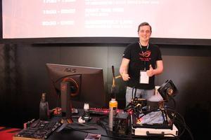 ASUS und Dancop auf der DreamHack 2017