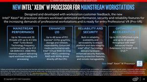 Intel Xeon W Pressdeck