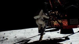 Grafik-Demo zu Mondlandung mit RTX-Unterstützung