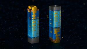FinFET (links) - RibbonFET + PowerVia (rechts)