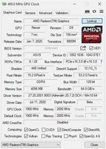 AMD Ryzen R5 4650G - DDR4- iGPU-Scaling