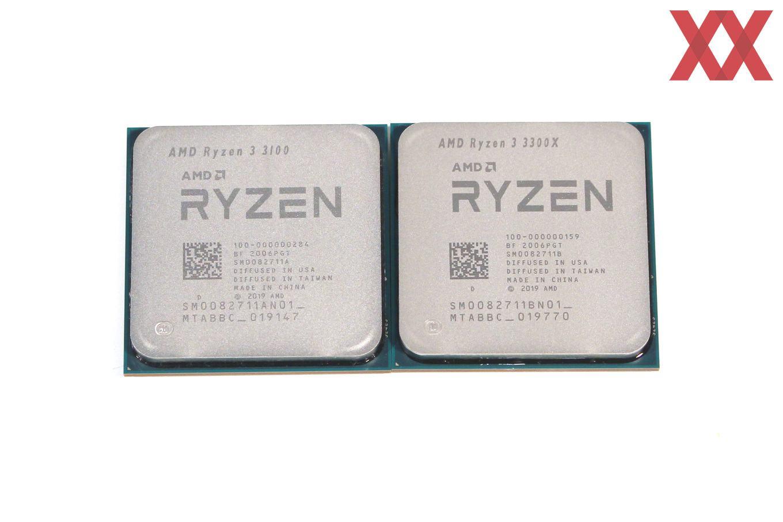 AMD Ryzen 3 3300X und Ryzen 3 3100 im Test