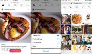 Instagram: Ab sofort Bilder mobil über den Browser hochladen