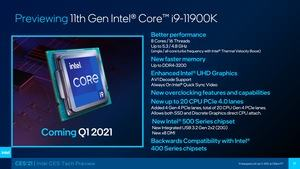 Intel CES 2021 Tech-Preview