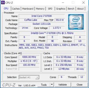 GPUz- und CPUz-Screenshots des Dubaro Gaming PC XXL