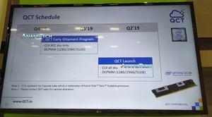 Produktroadmap von QCT (Bild: Anandtech)