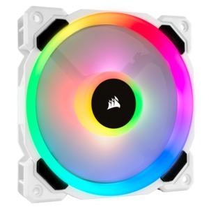 Corsair Hydro Series H100i RGB PLATINUM SE und LL120 RGB White