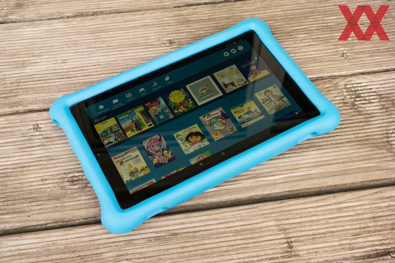 Das Fire HD 10 Kids Edition ist das bislang Amazons größtes Kinder-Tablet