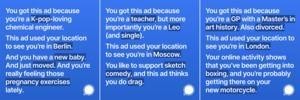 Signal-Werbung bei Instagram