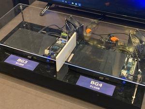 Toshiba zeigt die BG4 auf der CES 2019