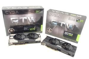 EVGA GeForce GTX 1070 und 1060 FTW Gaming