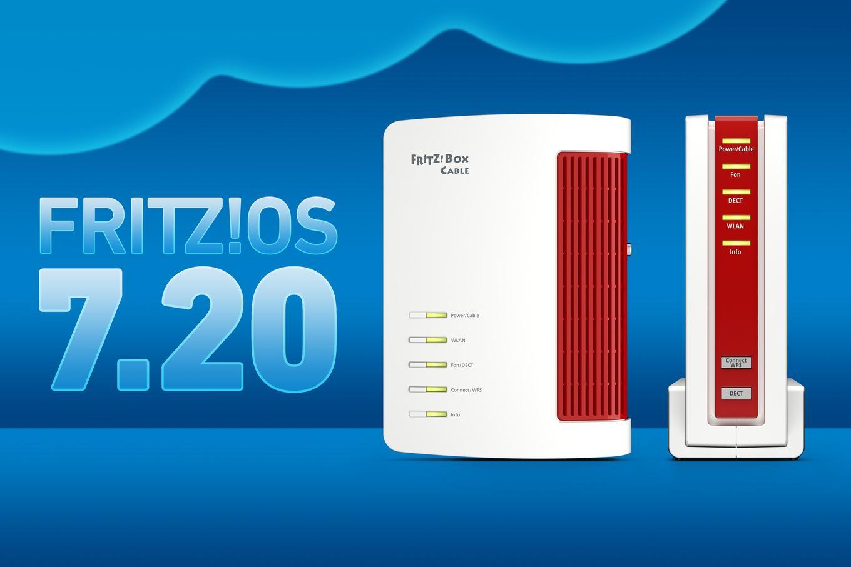 AVM FRITZBox 20 Cable erhält FRITZOS in der Version 20.20 ...