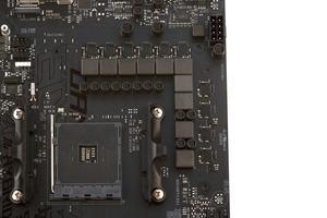 Effektiv werkelt ein 6+2-Phasendesign auf dem ASUS ROG Strix X470-F Gaming.