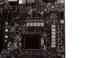 12 Spulen feuern auf die LGA1151-CPU ein.