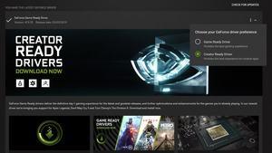 NVIDIA Creator-Ready-Treiber