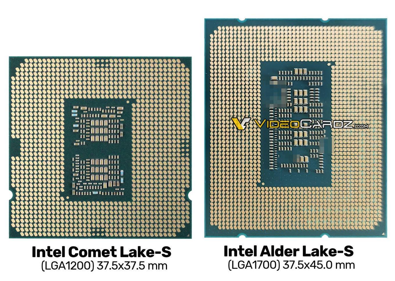 Alder-Lake-Prozessor mit 1.700 Kontakten