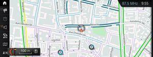 INRIX On-Street-Parkdienst im 5er BMW
