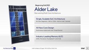 Intel-Präsentationsfolien zu Alder Lake