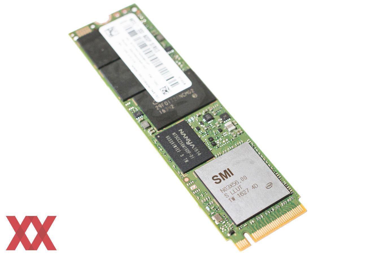 Der Controller der Intel SSD 600p stammt von Silicon Motion.