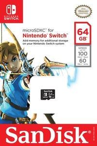 SanDisk führt offiziell lizenzierte Speicherkarten für die Nintendo Switch ein