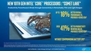 Intel 10th Core Prozessor alias Comet Lake-U und Comet Lake-Y