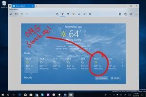 Mit Redstone 5 wird aus Screen Sketch eine eigenständige App
