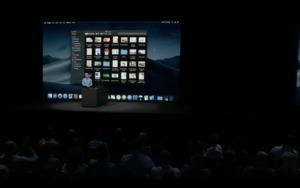 Apple WWDC 2018 - macOS
