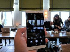 Im Vergleich zum P9 wurde die Kamera-App nur minimal verändert