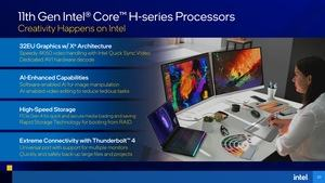 Intel Tiger Lake-H Präsentation