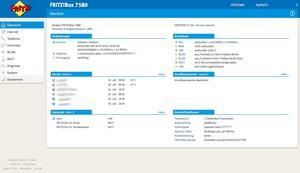 FRITZ!OS 7 auf einer FRITZ!Box 7580